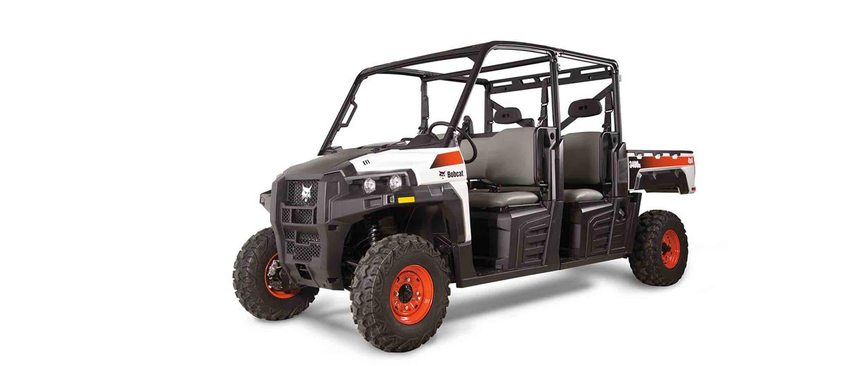 Bobcat 3400XL UTV on a white background.