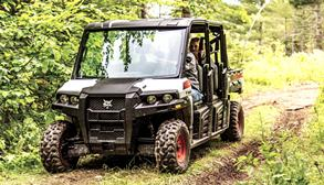Bobcat 3400XL utility vehicle.