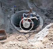 Water irrigation tunnel